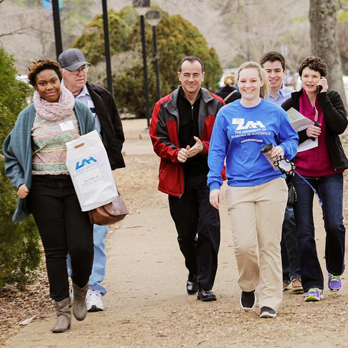 Have you been admitted to UAH? You don't want to miss Admitted Student Day on Monday, March 9th! Register Now!